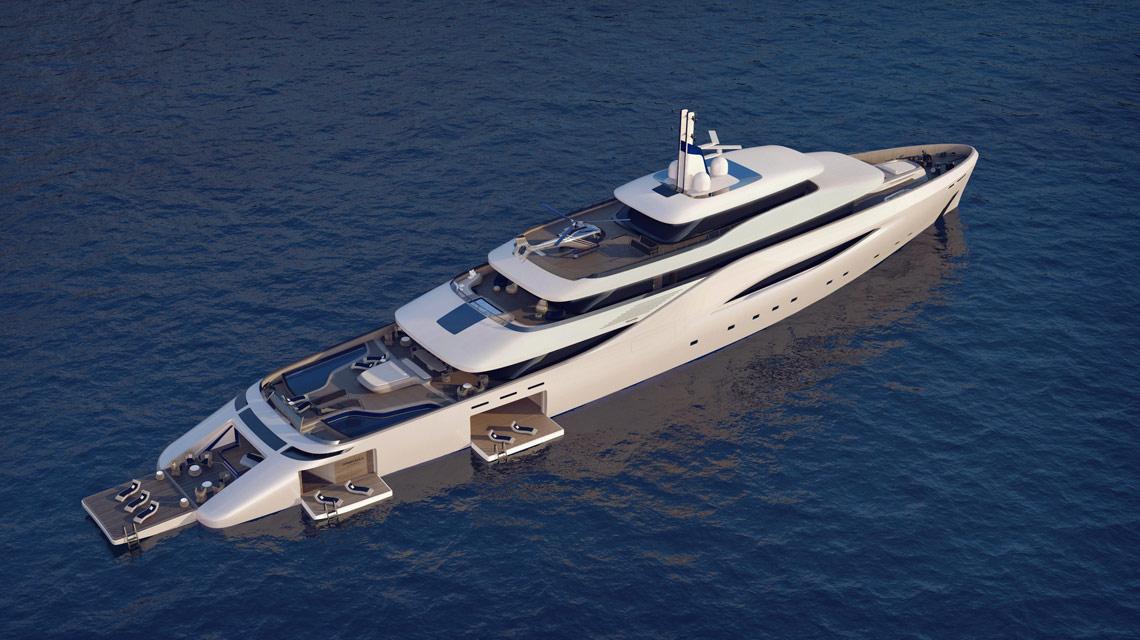 Fincantieri   Mega yacht