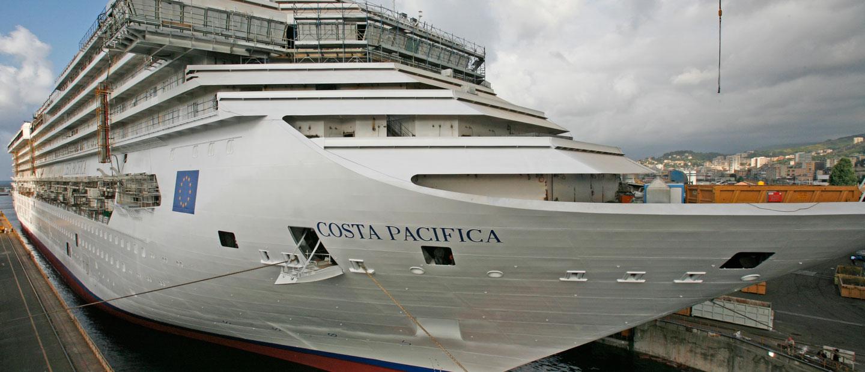 Fincantieri costa pacifica for Costa pacifica piano nave