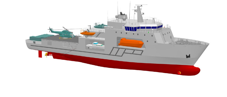 Fincantieri | Hydrographic Survey Vessel